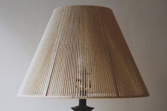 Ready to ship woven lamp shade modern boho steel frame and modern woven lamp shade mozeypictures Images