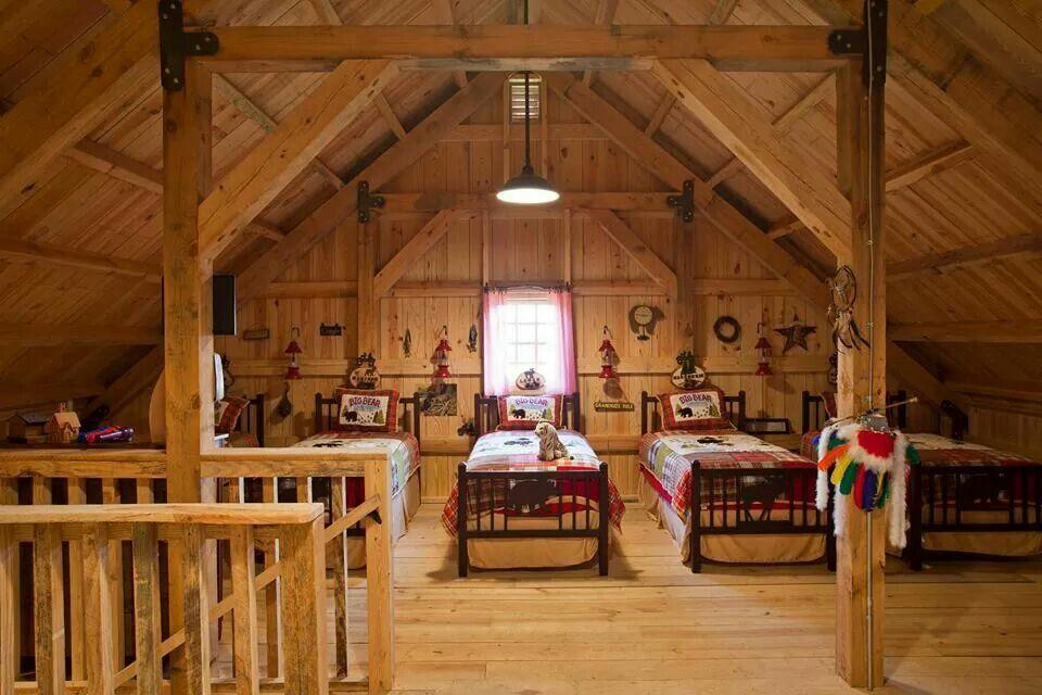 Loft bunkhouse