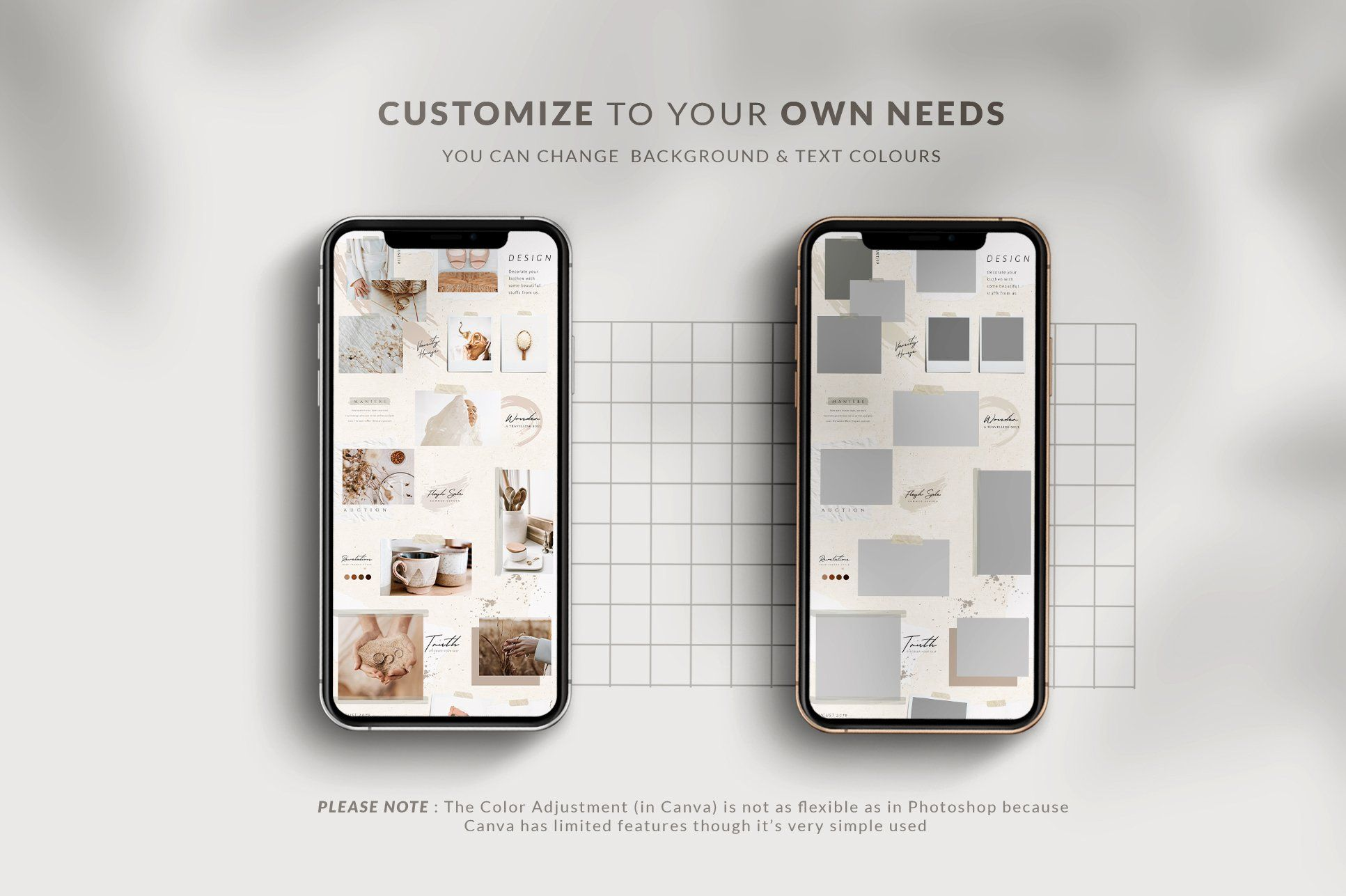 Puzzle Lucy Instagram Canva & PS in 2020 Folder design