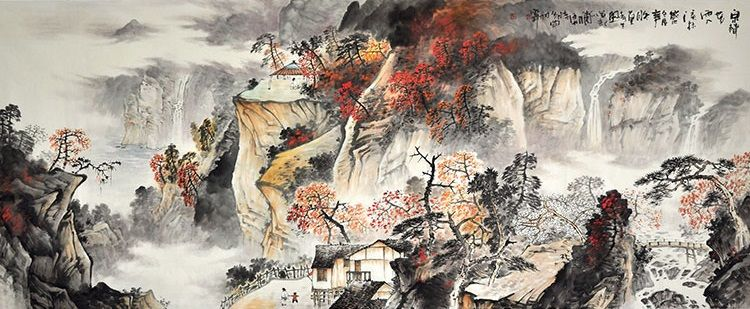 Nature Art Painting For Sale Large Paintings Modern Famous Artists Landscape Painting