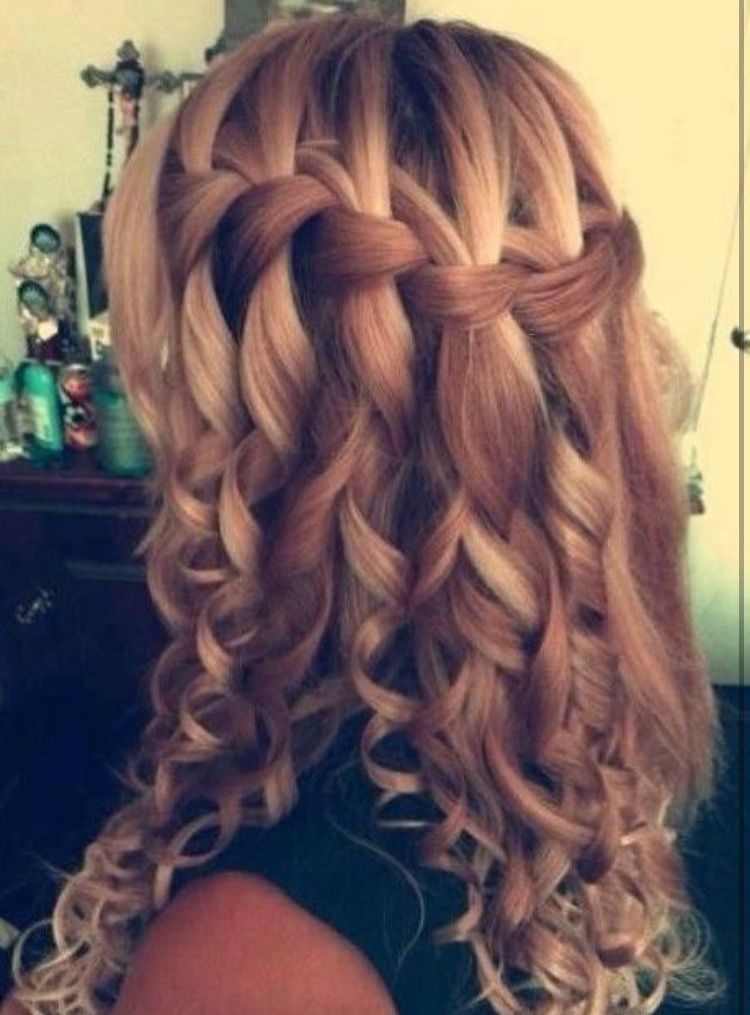 Cute Hairstyles For School Dances Url Https K Kustomrods Blogspot Com 2018 01 Cute Hairstyles For School Hair Styles Curly Prom Hair Braids For Long Hair
