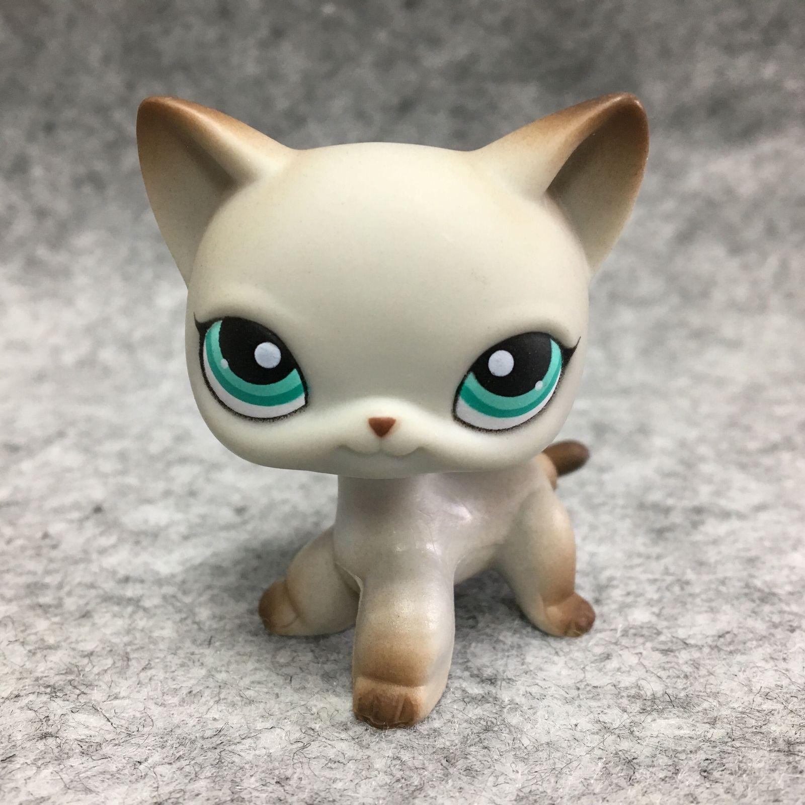 3 99 Littlest Pet Shop Animals Lps Toy 391 Grey Short Hair Cat Figure D Littlest Shop Animals Grey Short Hair Fig Pet Shop Little Pets Lps Pets