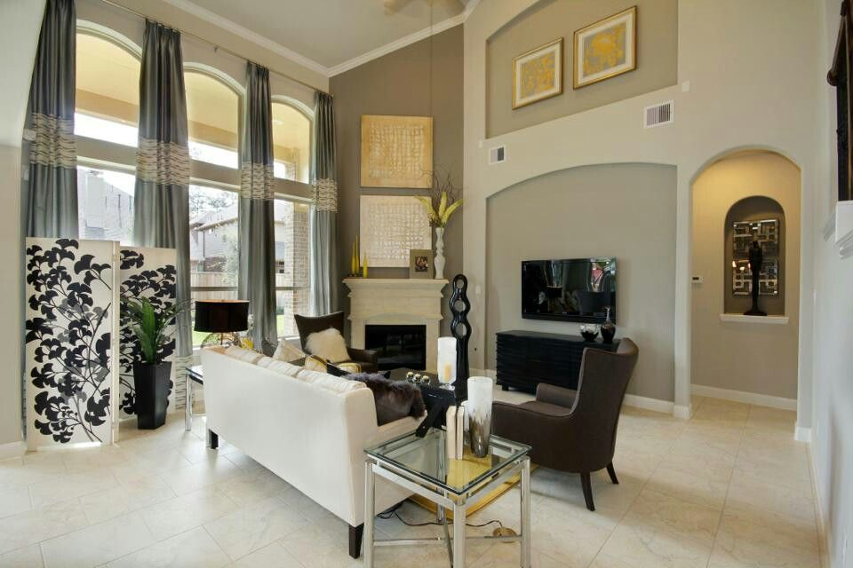Model Home Living Room professionally furnished lennar model home! | lennar communities