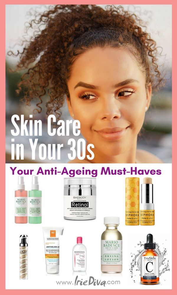 The 9 Best Skin Care Products for 30s #skincare