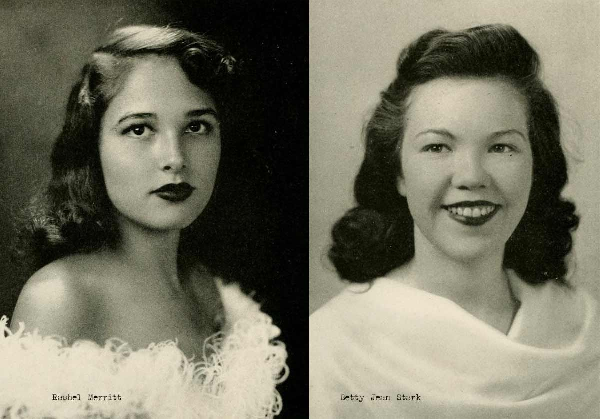 1940s college girl hairstyles | vtg hair & face | hair