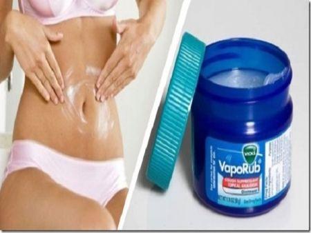 Receita Conheça este truque para reduzir gordura abdominal com Vick Vaporub