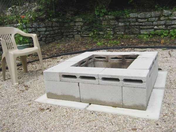 20+ Cool Ways To Use Cinder Blocks In The Garden #betonblockgarten