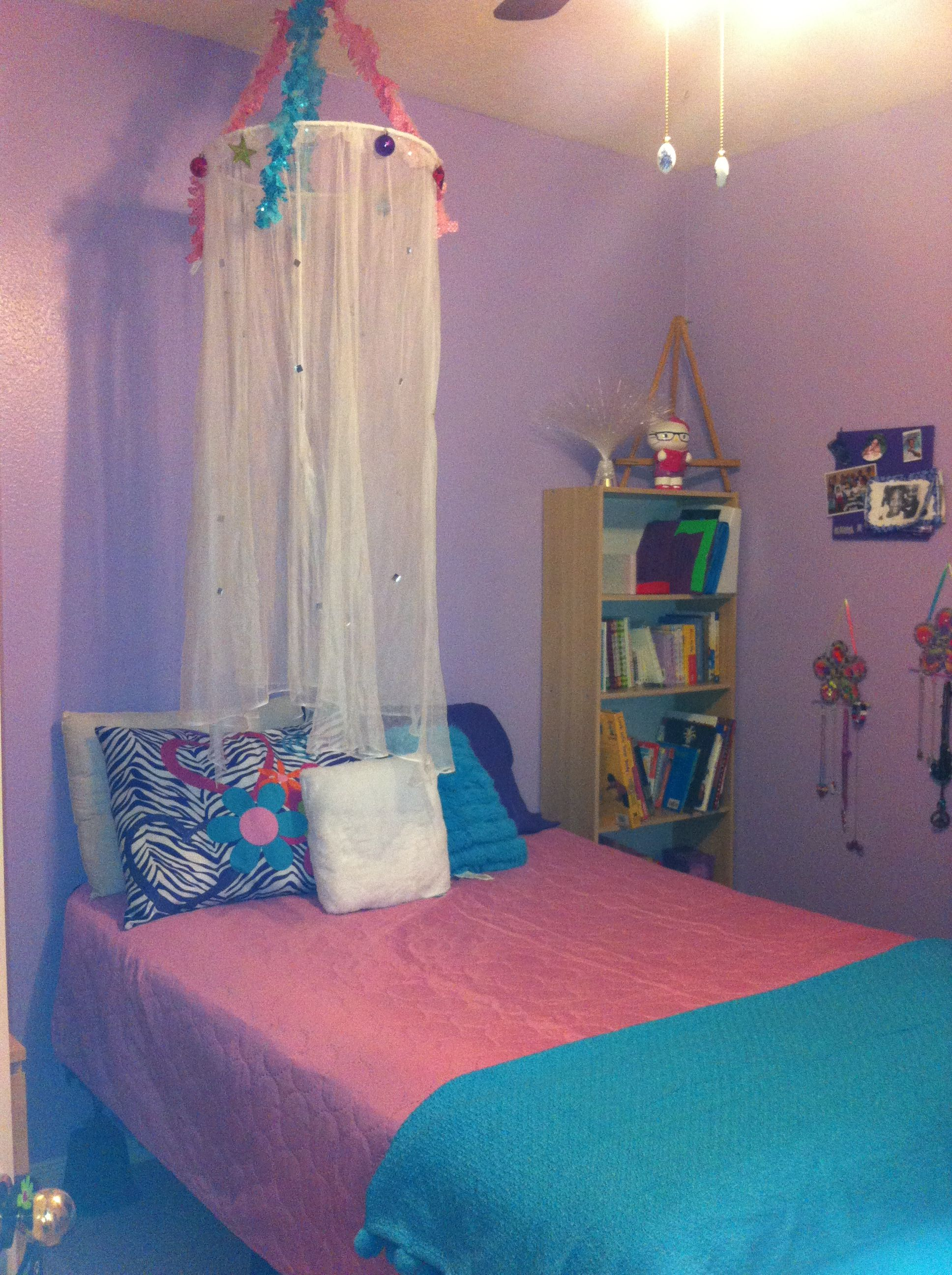 Re Decorated My 11 Year Olds Room Tween Theme Old Room Diy Room Decor For Girls Girls Room Decor