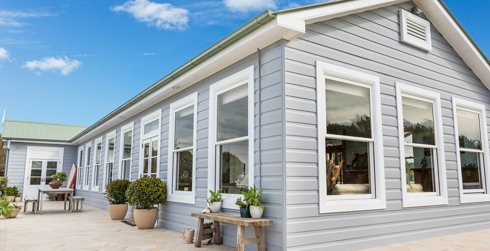Light Grey Exterior White Windows The New House Pinterest Grey Exterior Exterior And Window