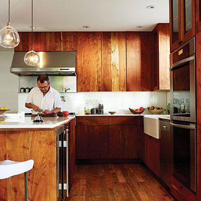 Wood Kitchen Cabinets raw wood kitchen cabinets : 1000+ images about kitchen ideas on Pinterest | Modern kitchen ...