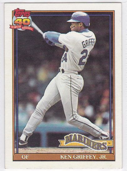 Mariners Ken Griffey Jr Topps 40 Years Of Baseball Trading Card 790