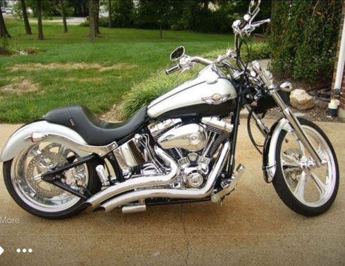 Harley Davidson Deuce >> 2003 Harley Davidson Fxstd Fxstdi Softail Deuce Saint
