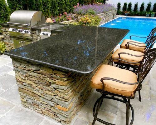 Ubatuba Granite Outdoor Kitchen Outdoor Kitchen Design Outdoor Kitchen Design Layout Outdoor Kitchen