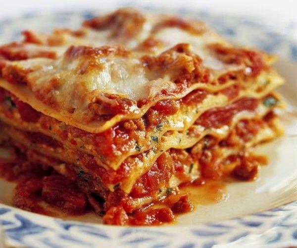 Ricetta Lasagne Italiana.Lasagna Italiana Lasagne Fatte In Casa Ricette Pasti Italiani