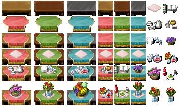 RPG Maker VX - Tables by Ayene-chan on DeviantArt | Pixel Art | Rpg