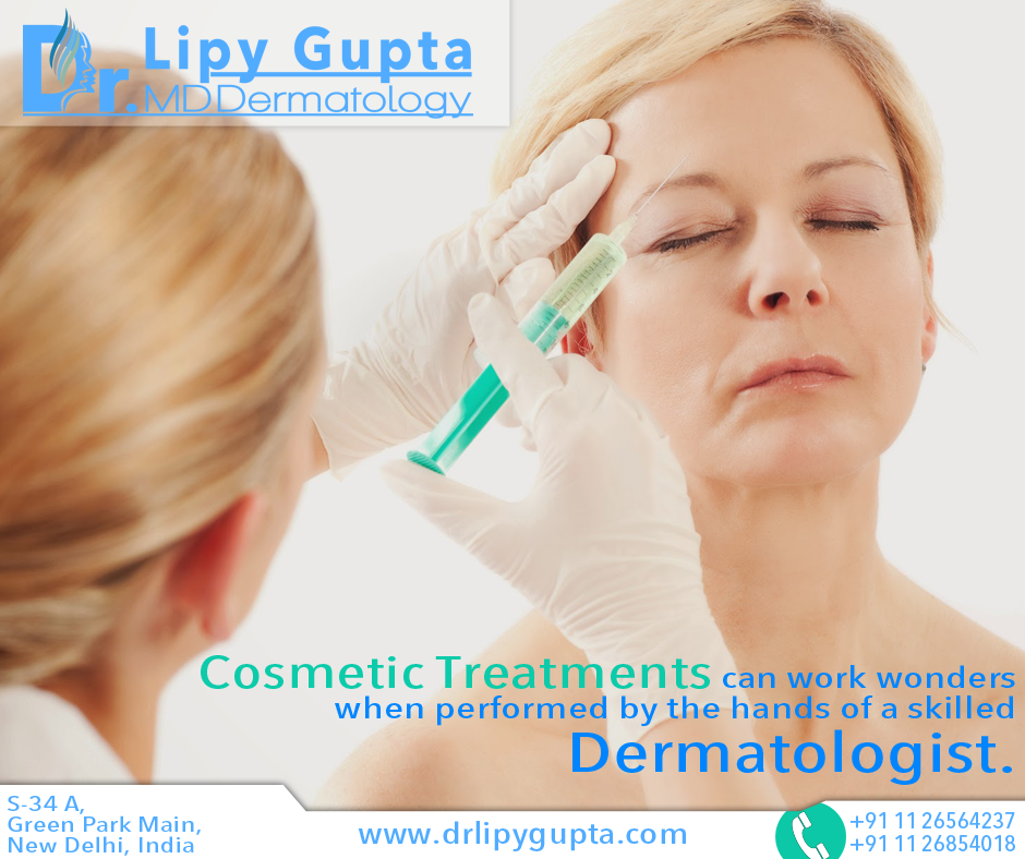 Cosmetic Treatments Can Work Wonders When Performed By The Hands Of