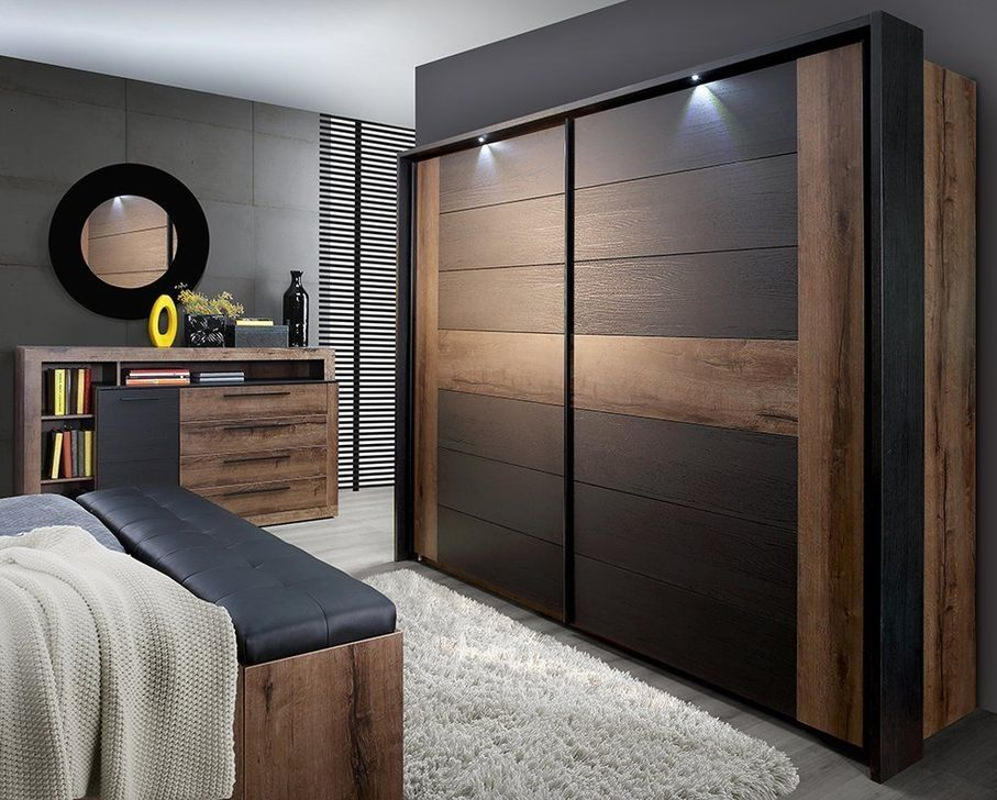99 Best Wardrobe Design Ideas For Your Small Bedroom 99bestdecor Sliding Door Wardrobe Designs Bedroom Closet Design Bedroom Furniture Design