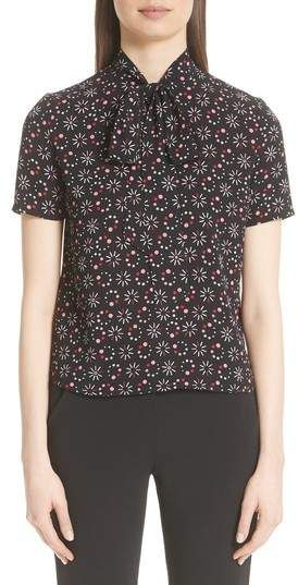81a6be65f89c Emporio Armani Floral Print Blouse | Products | Floral prints ...