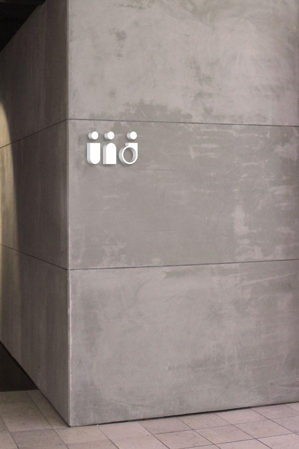 Bathroom Sign Mockup wayfinding library - signage map pictogramskine halland, via