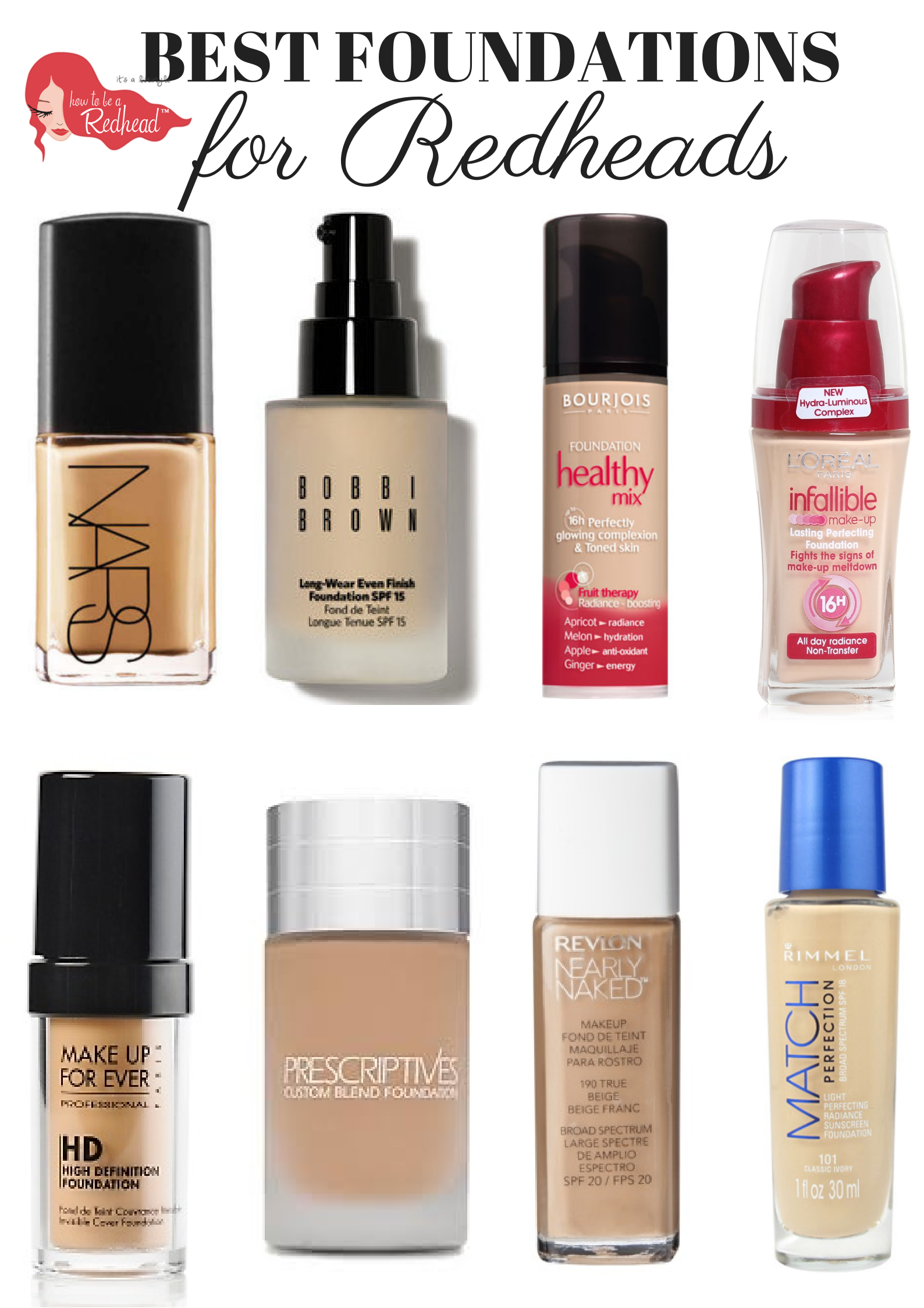 Save or Splurge? The Top Foundation Picks for Redheads