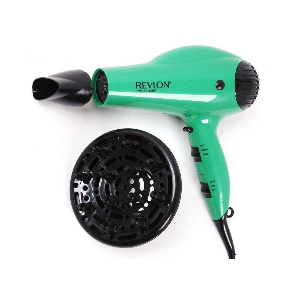Revlon watt volume ionic green hair dryer green hair hair
