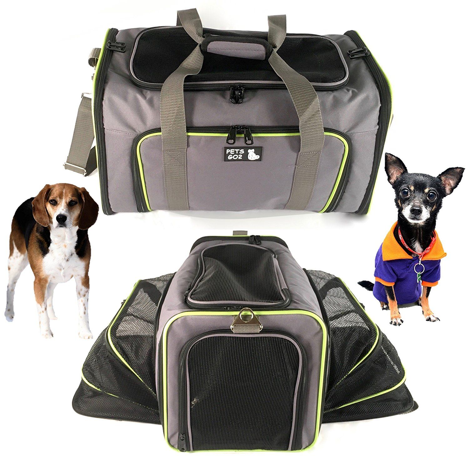 Pet Carrier For Dogs And Cats Airline Approved Quality Expandable Soft Animal Carriers Portable Soft Sided Air T Pet Carriers Dog Carrier Small Pet Carrier