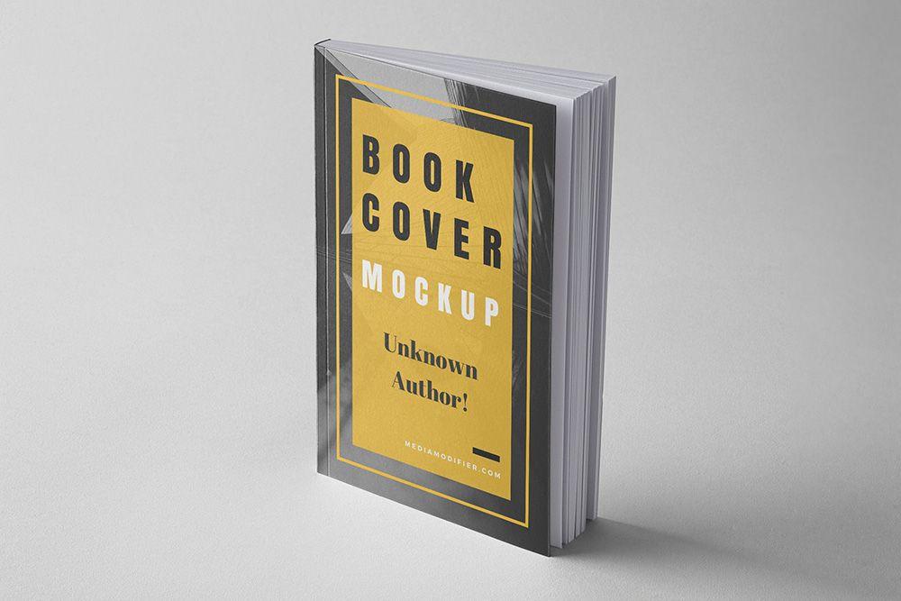 Realistic Softcover Book On Studio Background Mockup Generator Mediamodifier Free Online Mockup Generator Book Cover Mockup Book Cover Books