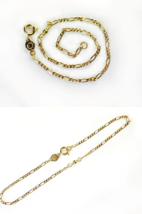 bracelet anklet multilayer filled gold heart lucky pendent women ankle bead product with detail charm