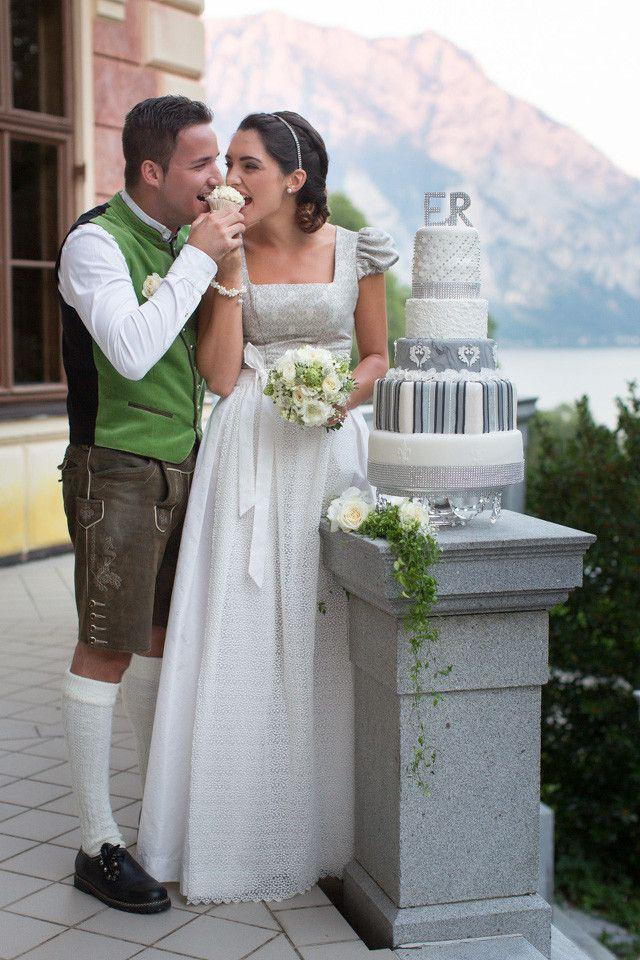 Das Dirndl Als Brautkleid Hochzeitskleid Dirndl Dirndl Hochzeit Braut Dirndl