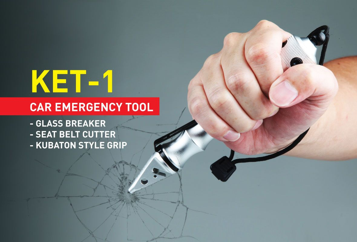 USB Charging Ports and Compact Design for Emergency Smith /& Wesson Vehicle Escape Tool with Glass Break Strap Cutter Charging and Survival