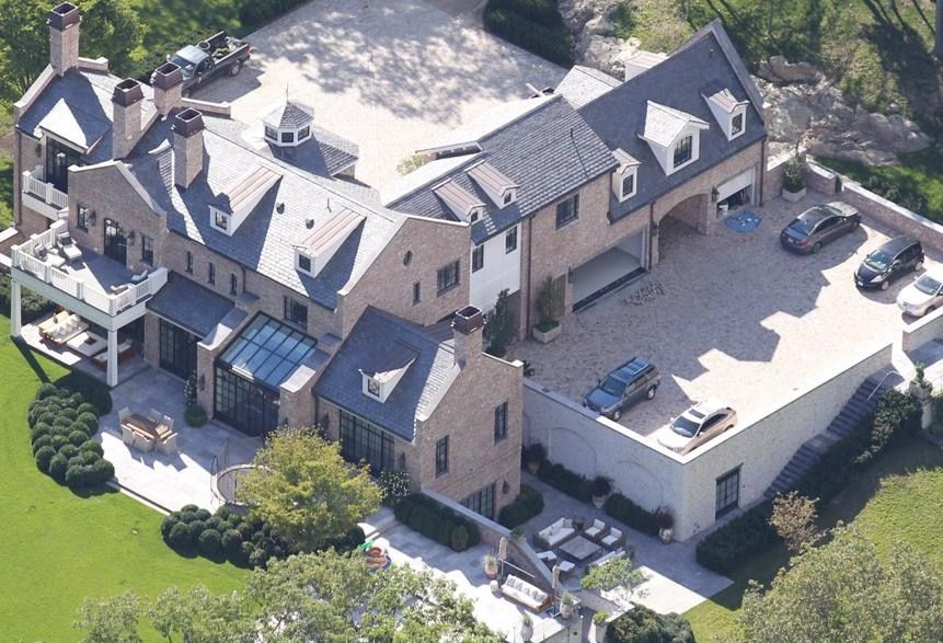 Tom Brady And Gisele Bundchen Home In Brookline Ma 40 Mil