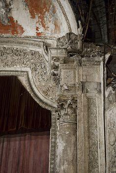 Mexican Theatre proscenium detail