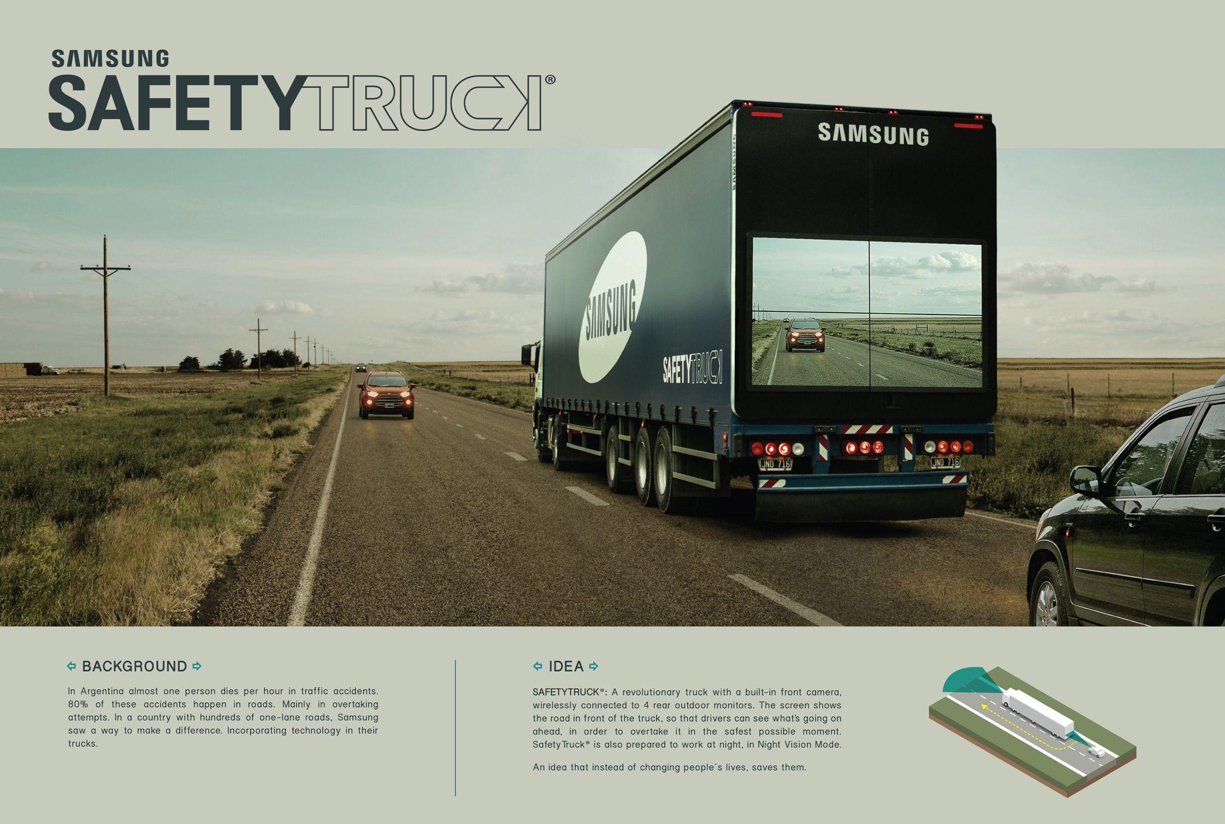 Samsung Safety truck, by Leo Argentina