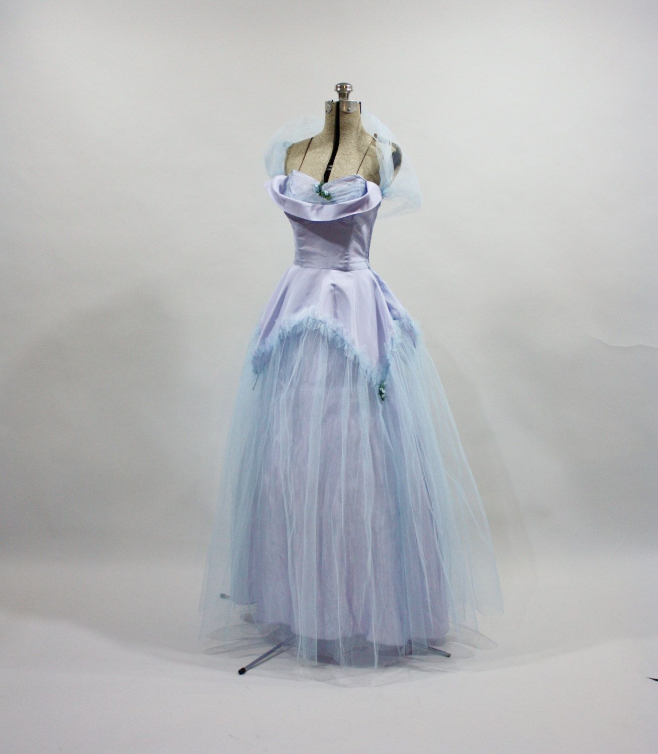 Vintage s s formal gown fairy tale by bombshellsandbabes
