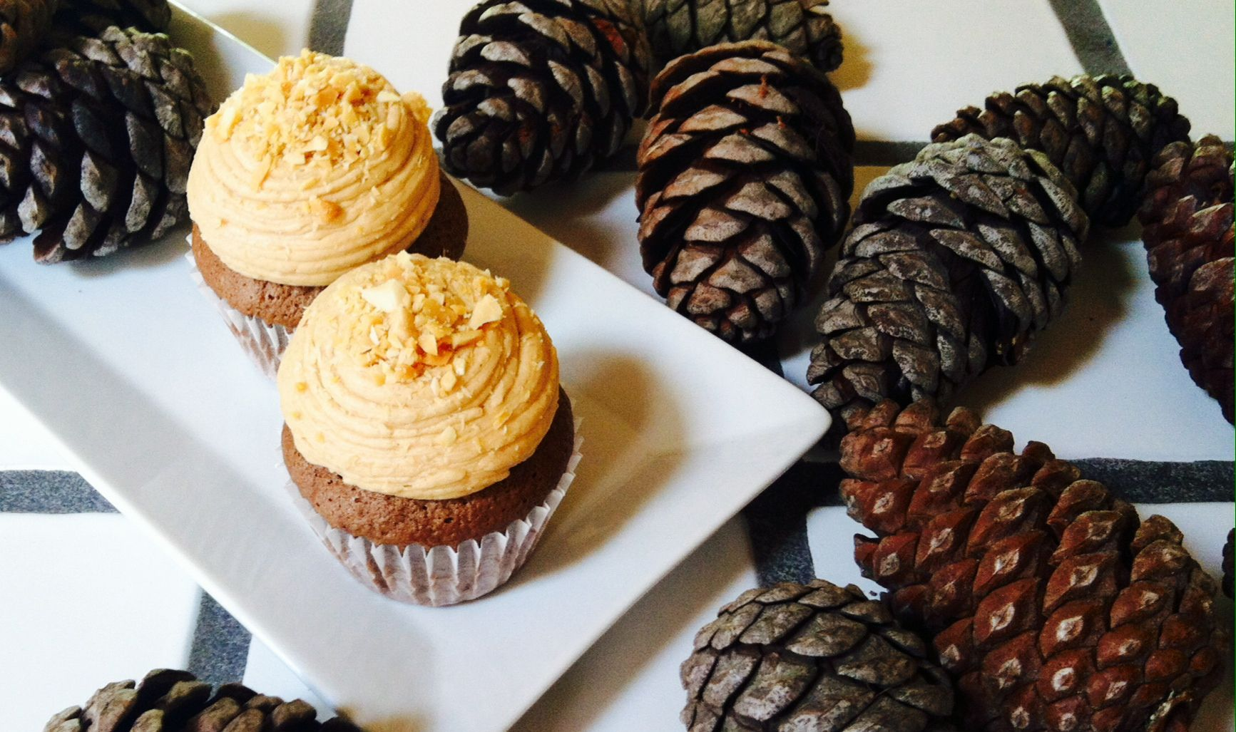 Chocolate and peanut butter cupcakes, dessert bar, san diego