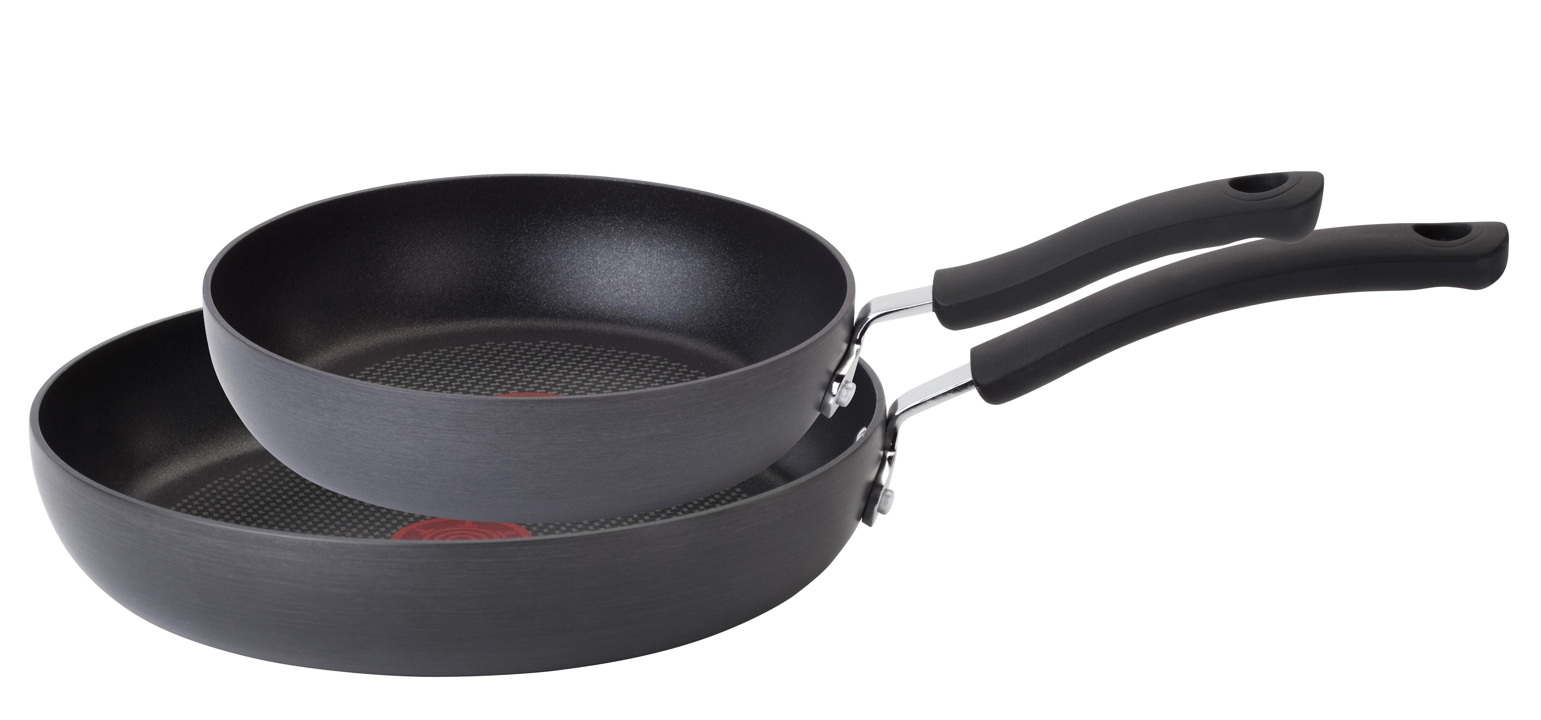 Saute Pans T Fal E918SC Ultimate Hard Anodized Nonstick Expert Interior  Thermo Spot Heat