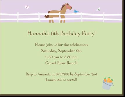 Horse birthday invitations for marica birthday party ideas horse birthday invitations for marica filmwisefo Choice Image