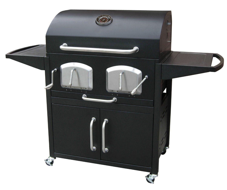 Landmann 591320 768 21 Grilling Charcoal Grill Offset Smoker