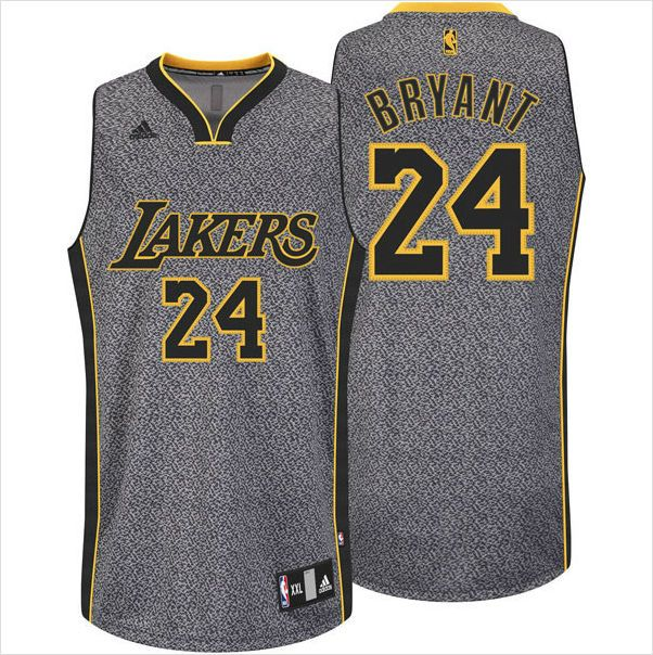 8c052f998 Mens Los Angeles Lakers Kobe Bryant 24 All-Over Static Basketball NBA Jersey  on eBid United States