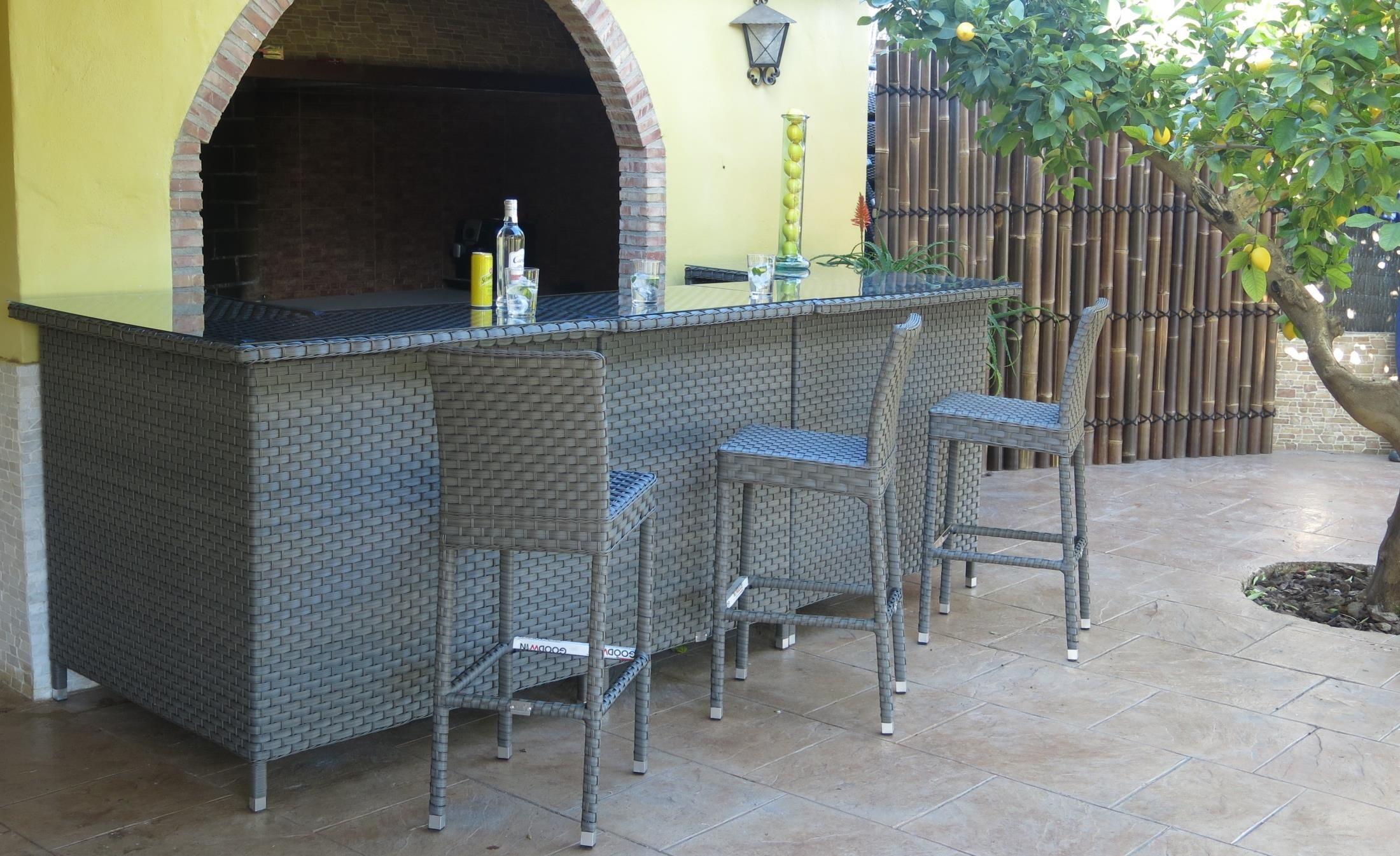 Barra Bar Exterior Www Jardinter Com Minimalismo Decoracion Boda En Jardin Barra De Bar