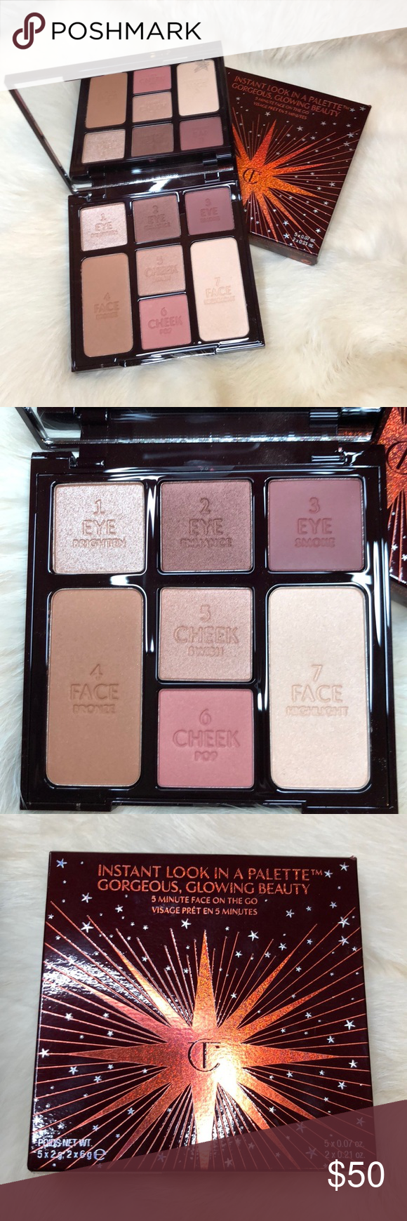 Charlotte Tilbury Instant Look In A Palette 2019 Charlotte Tilbury Charlotte Tilbury Makeup Tilbury