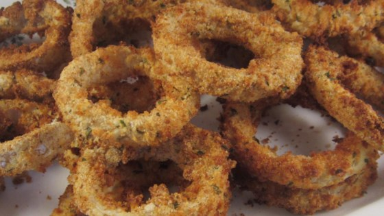 Air Fried Onion Rings Recipe In 2020 Onion Rings