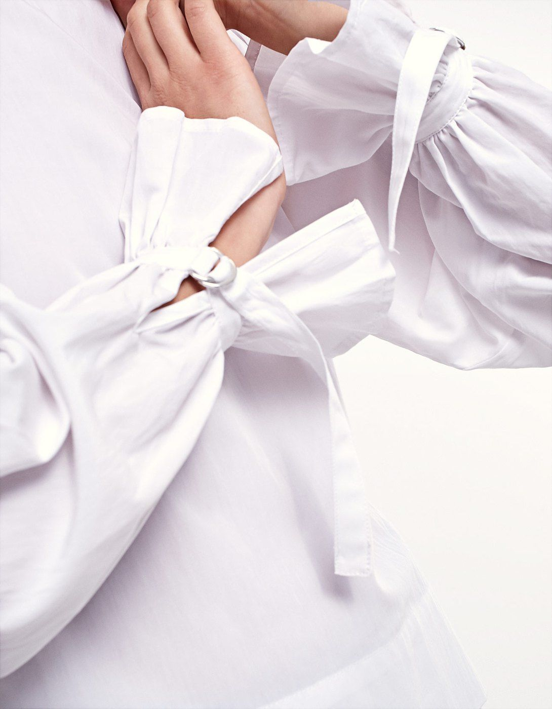 Opgeschikt hemd met gespen - Hemden| Stradivarius Netherlands