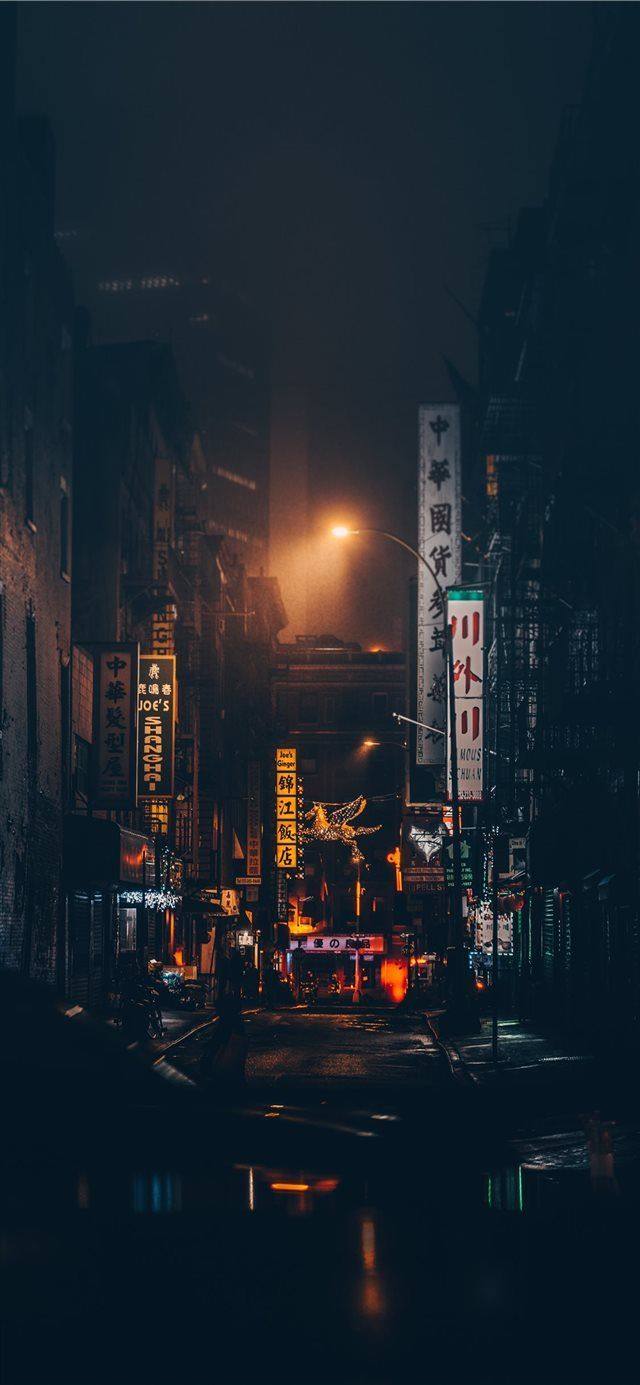 Chinatown  New York  United States iPhone X Wallpapers