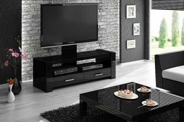 Beautiful Interior Design TV Cabinet With A Cool Design For A Modern Living  Room