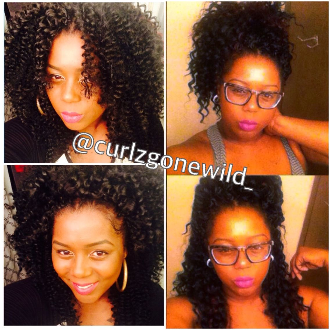 Freetress Water Wave Vs Deep Twist Crochet Braids Ig Curlzgonewild