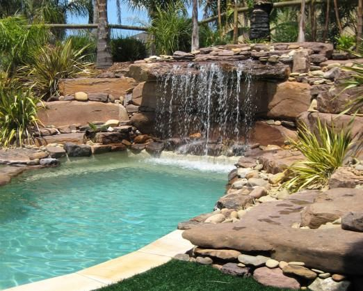 Matt Bunton Glenfield We Built 4 Pools With Blue Haven And They Are All Fantastic I Have Recommend Blue H Pool Landscape Design Pool Landscaping Cool Pools