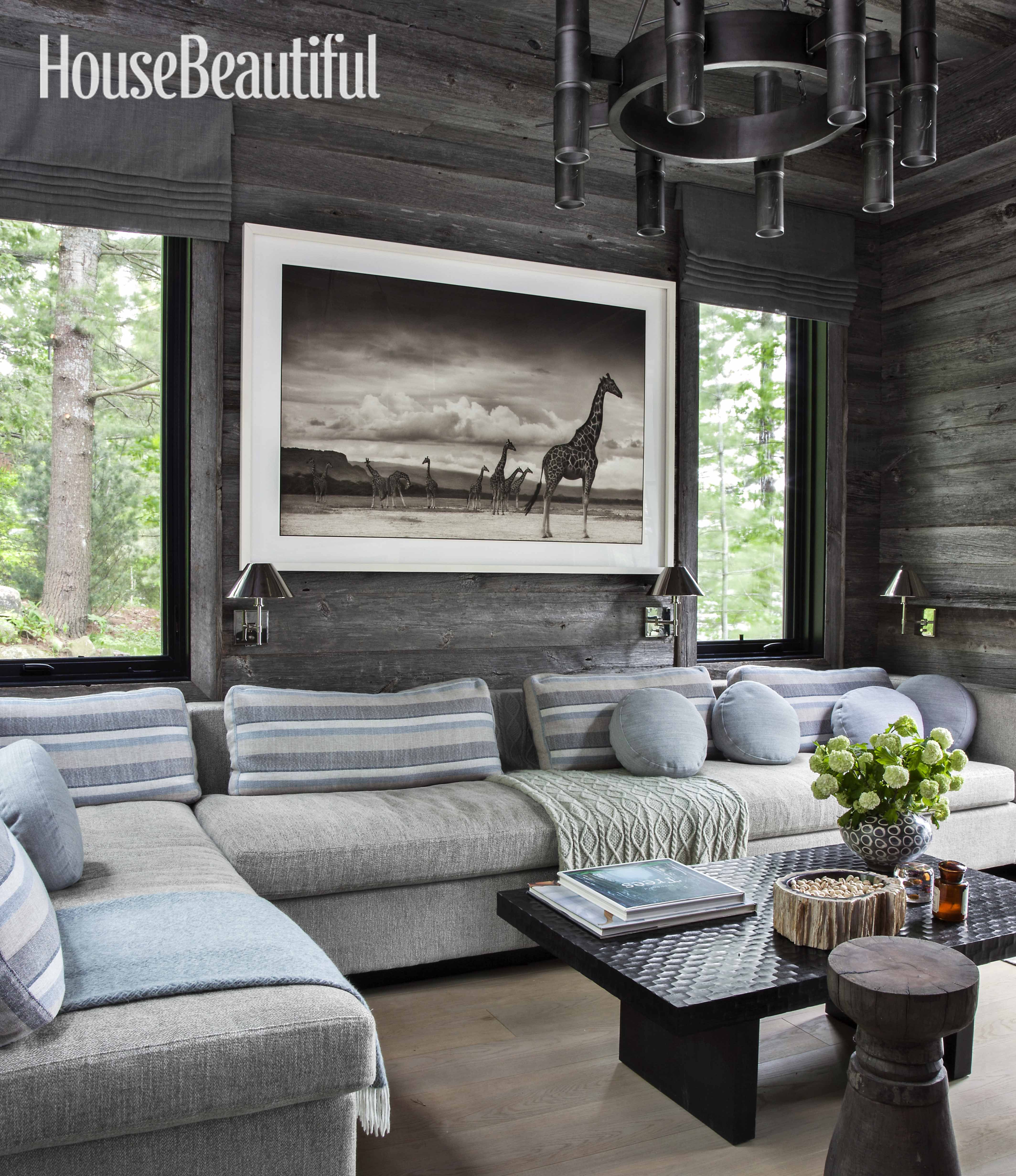 Rustic Lake House Decorating Ideas Rustic Lake House: Home Tour: Anne Hepfer's Rustic Modern Lake House