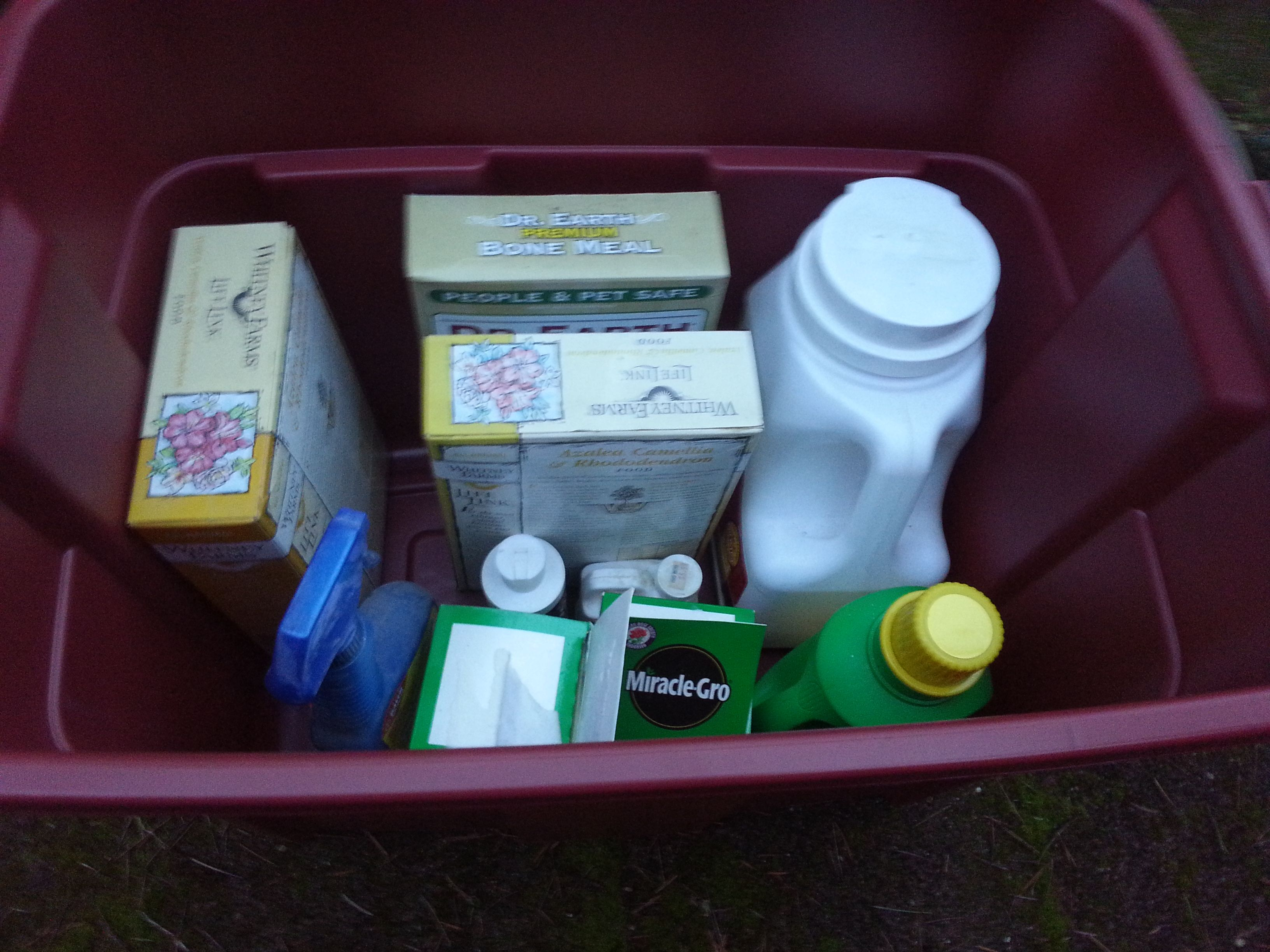 Can chemicals stored in your garage be drawn into your