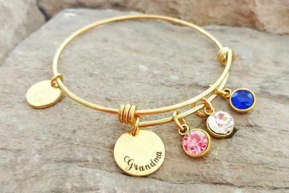 Grandma Bracelet Gift Charm